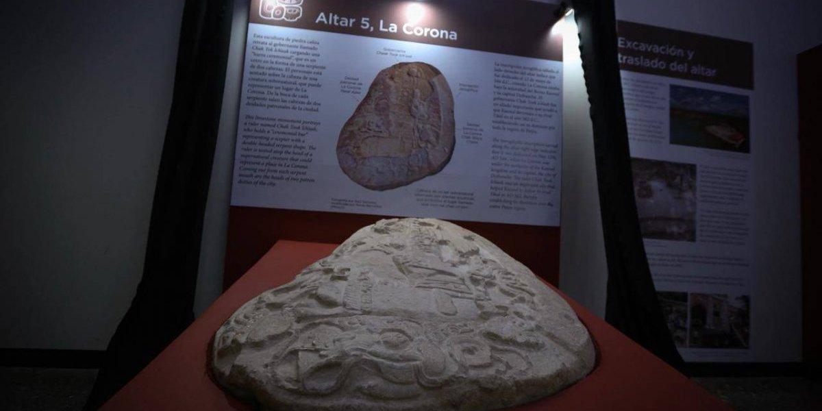 Petén: Anuncian el descubrimiento de una pieza arqueológica de casi 1500 años de antigüedad