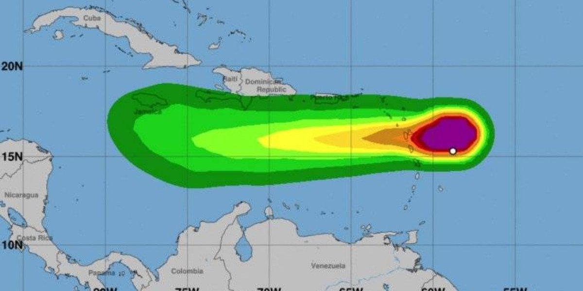 Vientos de la tormenta tropical Isaac comienzan a llegar a Antillas Menores