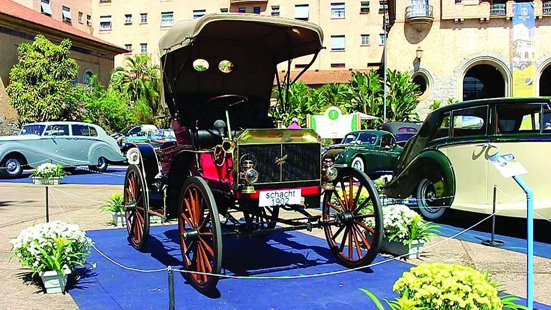 Schacht 1902 foi o veículo mais antigo | Alexandre Carneiro/AutoPapo