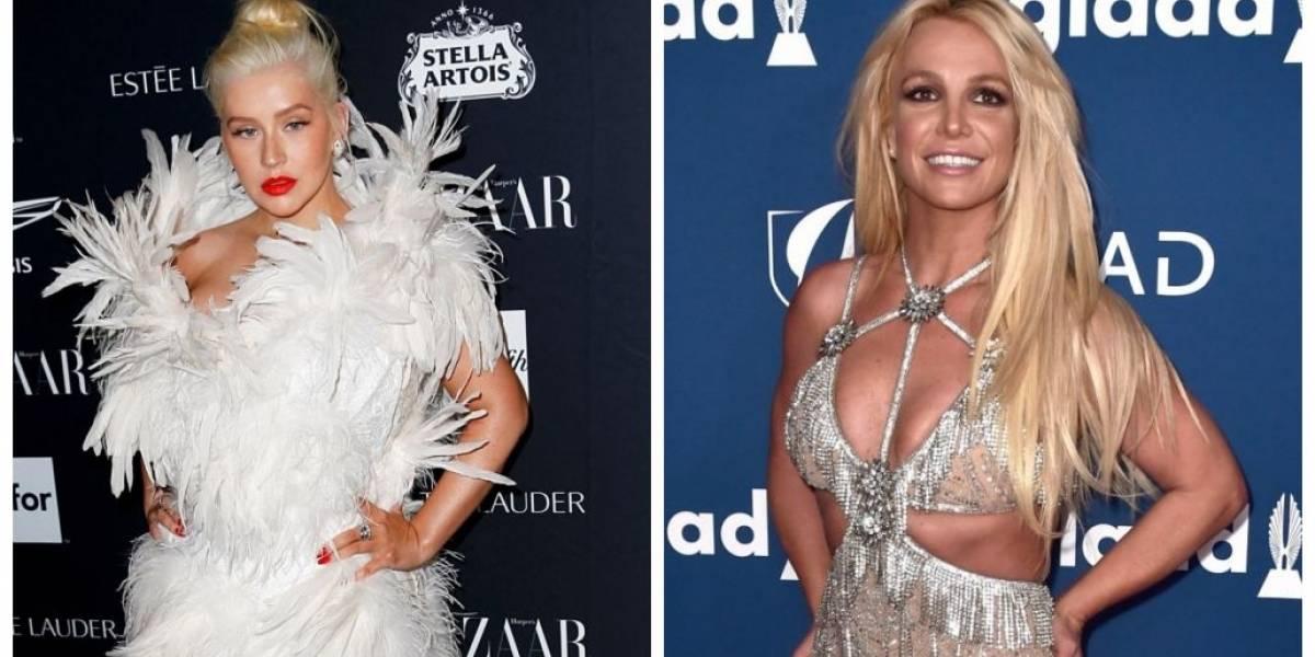 Christina Aguilera diz que aceita gravar canção com 'rival' Britney Spears