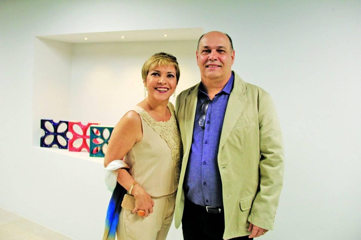 Antônio e Clara Pais em evento de decoração | Wesley Barcelos