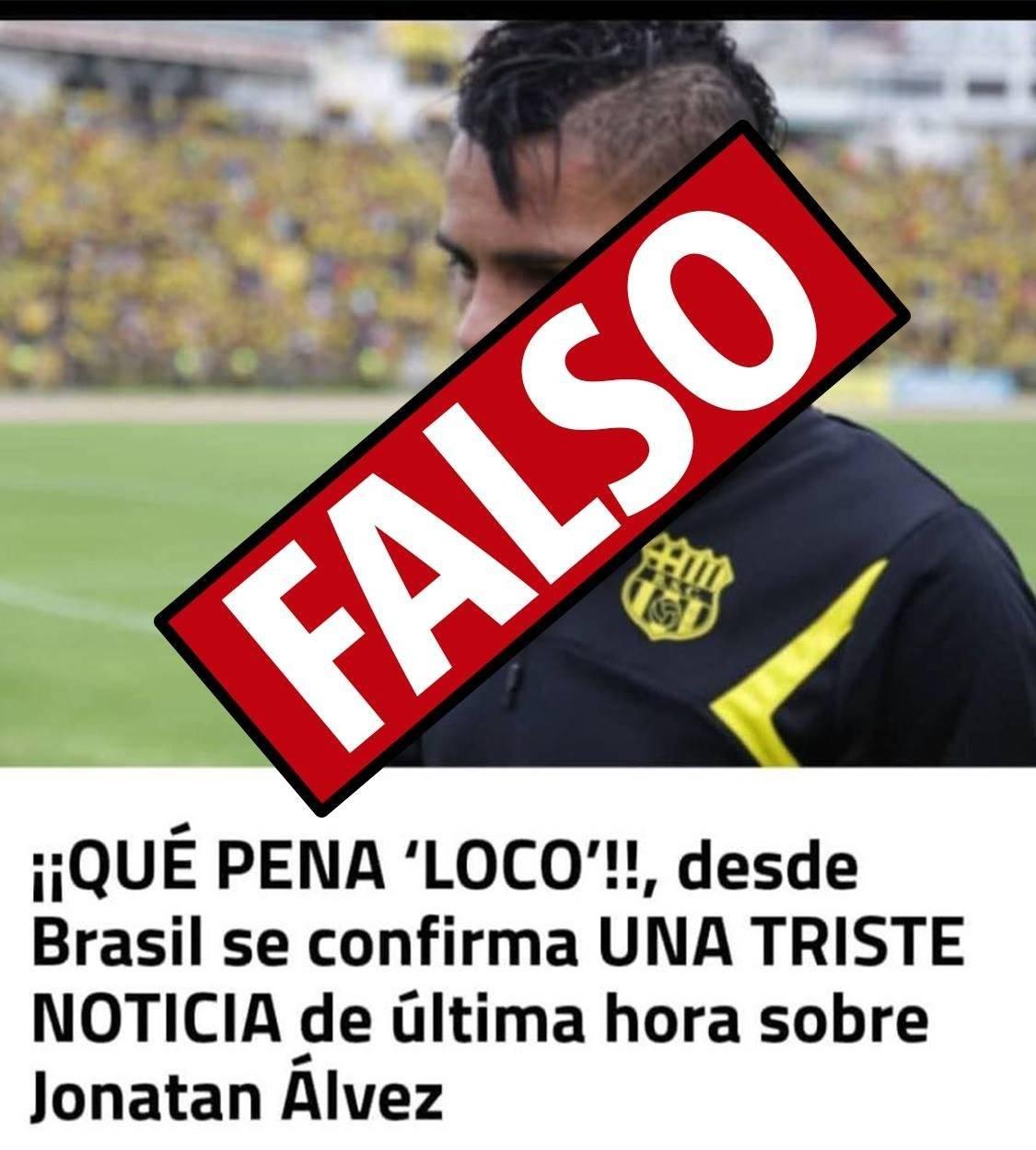Fake news: Foto de futbolista asesinado con 4 disparos no corresponde a Jonathan Alvez Internet