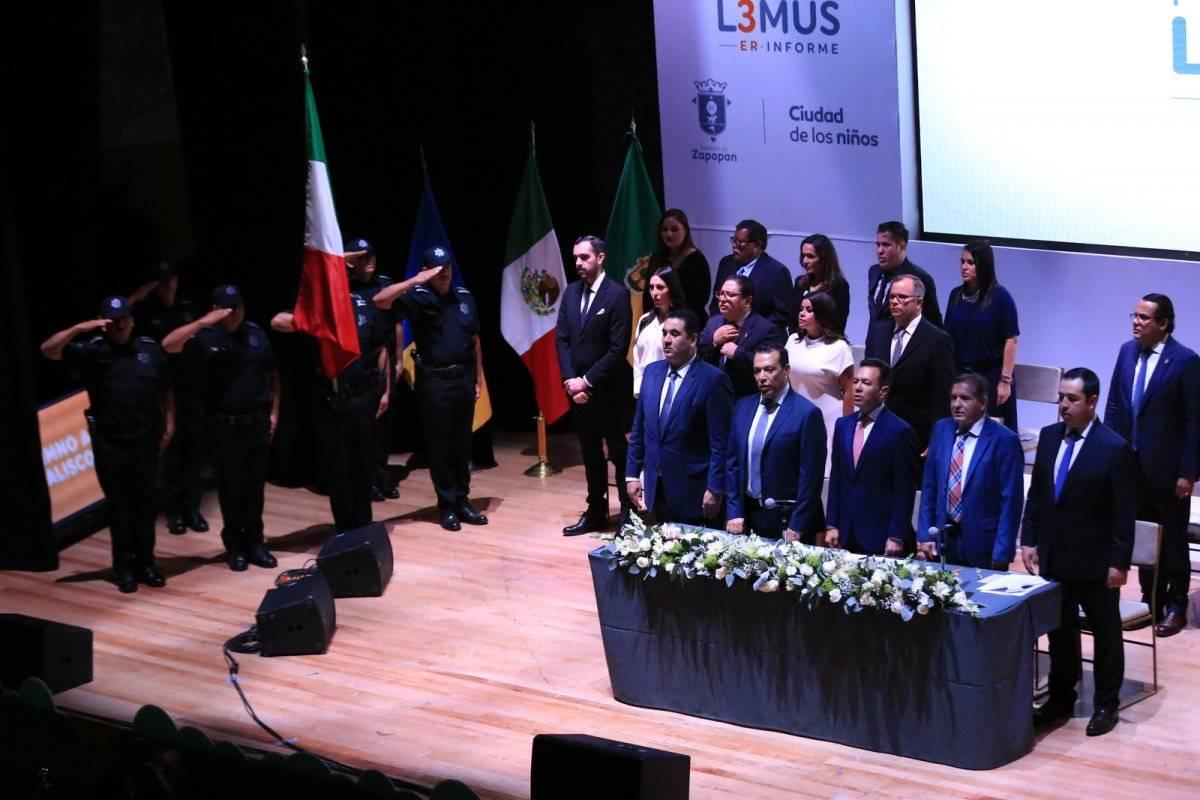 Rinde Pablo Lemus su informe de gobierno al frente de Zapopan