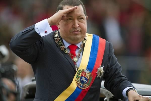 Hugo Chávez en 2012