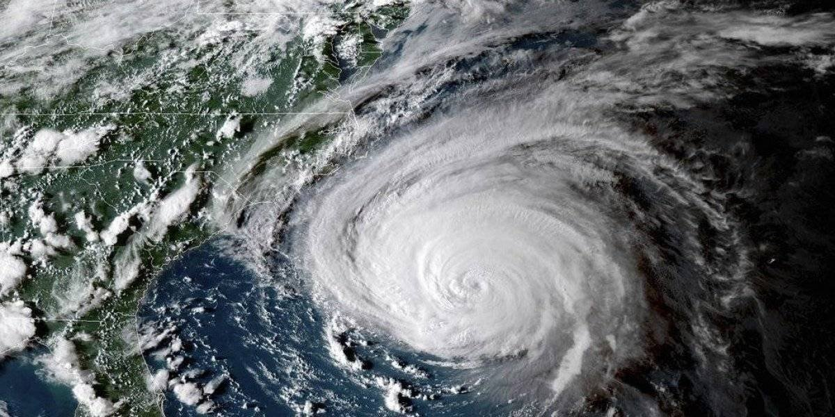 Florence comienza a azotar a las Carolinas