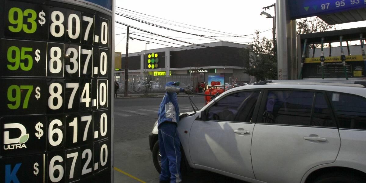 Precios de todos los combustibles subirán desde este jueves