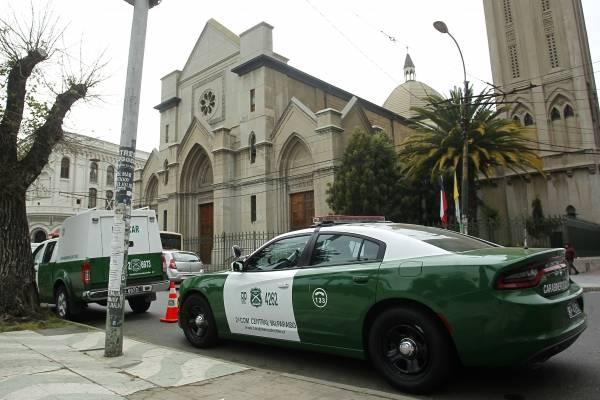 Allanan obispado de Valparaíso