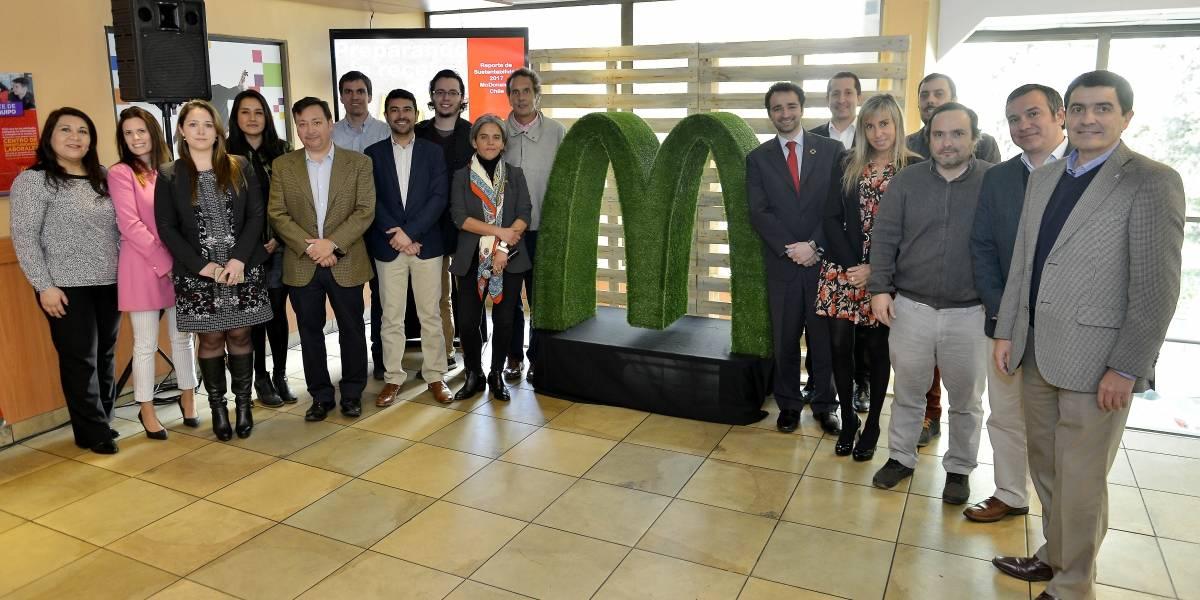 Empleo juvenil, inclusión al mundo laboral e impacto medioambiental, pilares en el informe de acciones de McDonald's en Chile y 20 países de la región