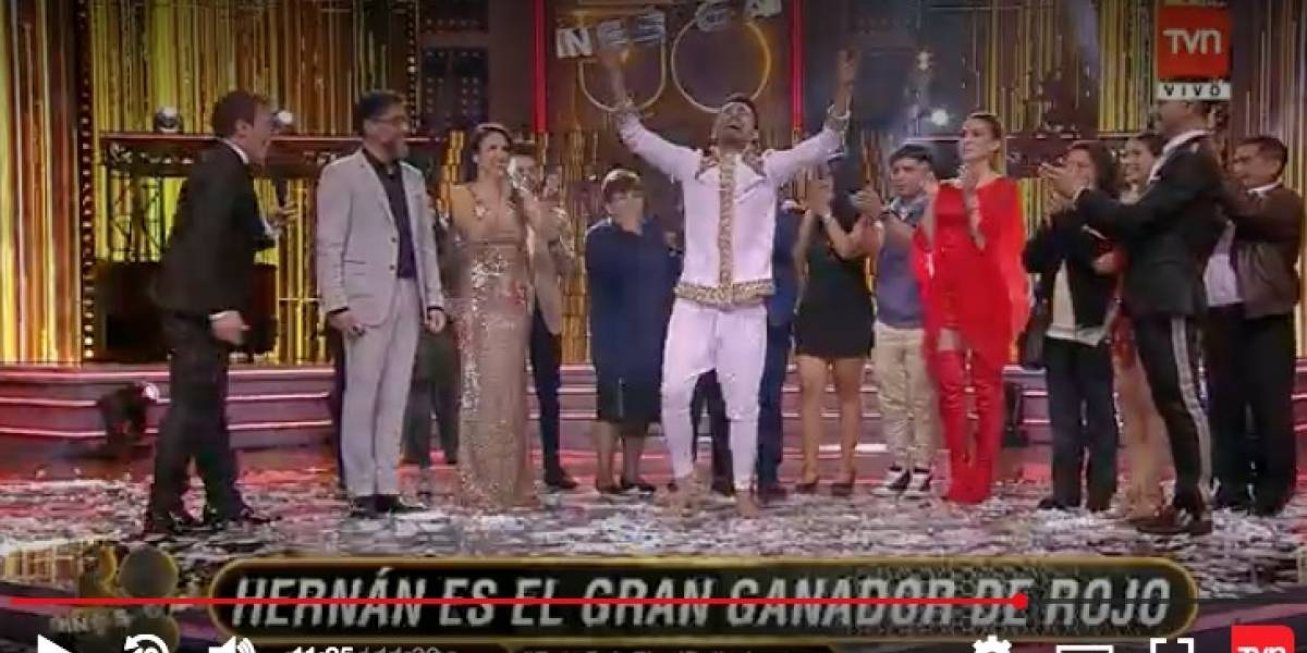 """Hernán Arcil se convirtió en el flamante ganador de """"Rojo, el color del talento"""""""