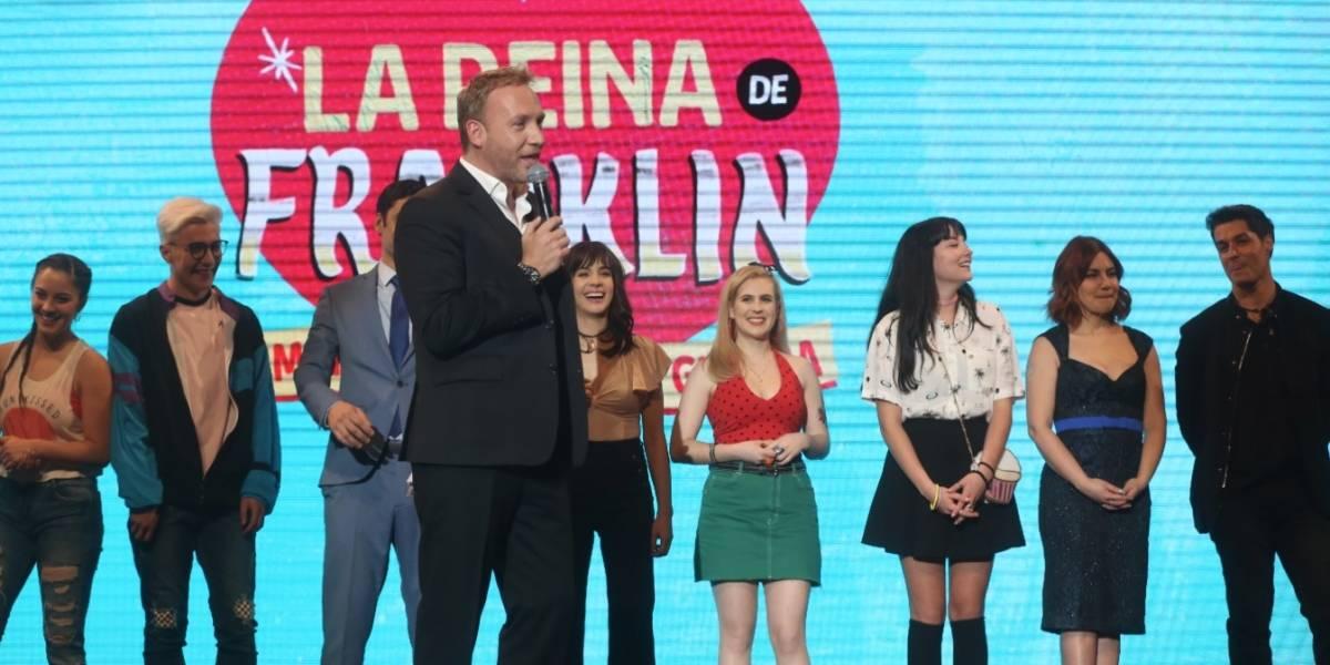 Los mejores momentos del lanzamiento de las dos nuevas teleseries de Canal 13