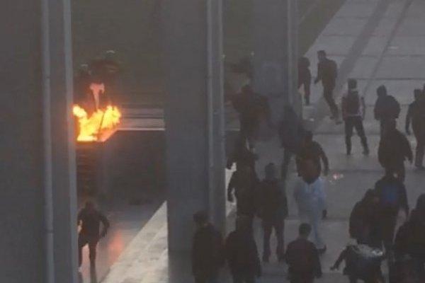 Sebastián Piñera se cuestionó: ¿Tiene que morir alguien?, tras ataques en el Liceo de Aplicación