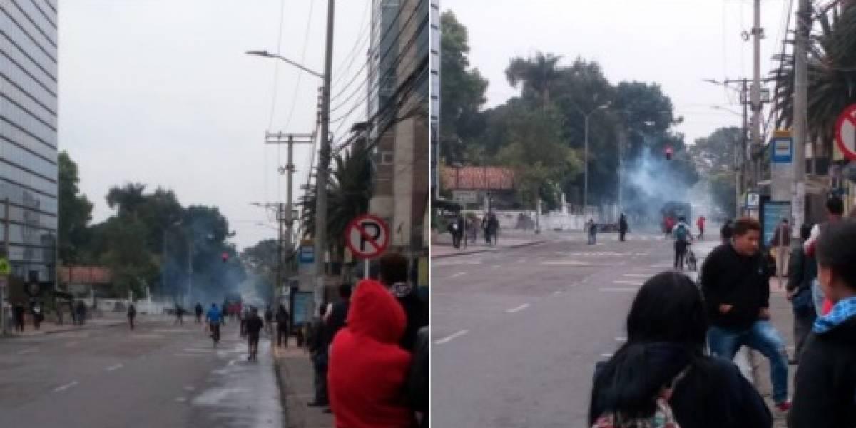 ¡Atención! grave situación de orden público en el norte de Bogotá