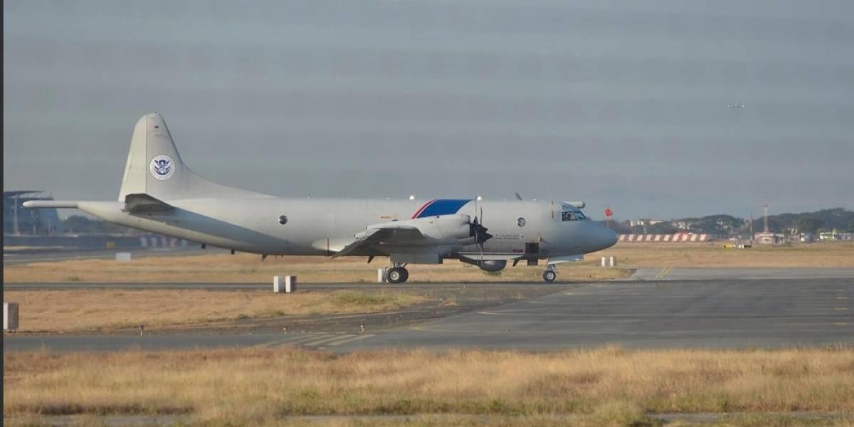 Incautan en Ecuador 4,8 toneladas de estupefacientes con apoyo de avión de Estados Unidos