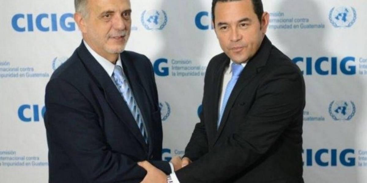 Corte de Guatemala ordena permitir regreso de Iván Velásquez al país