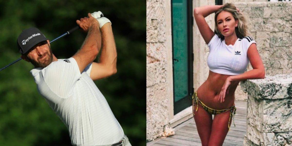Así reaccionó la esposa del golfista Dustin Johnson tras escándalo de infidelidad
