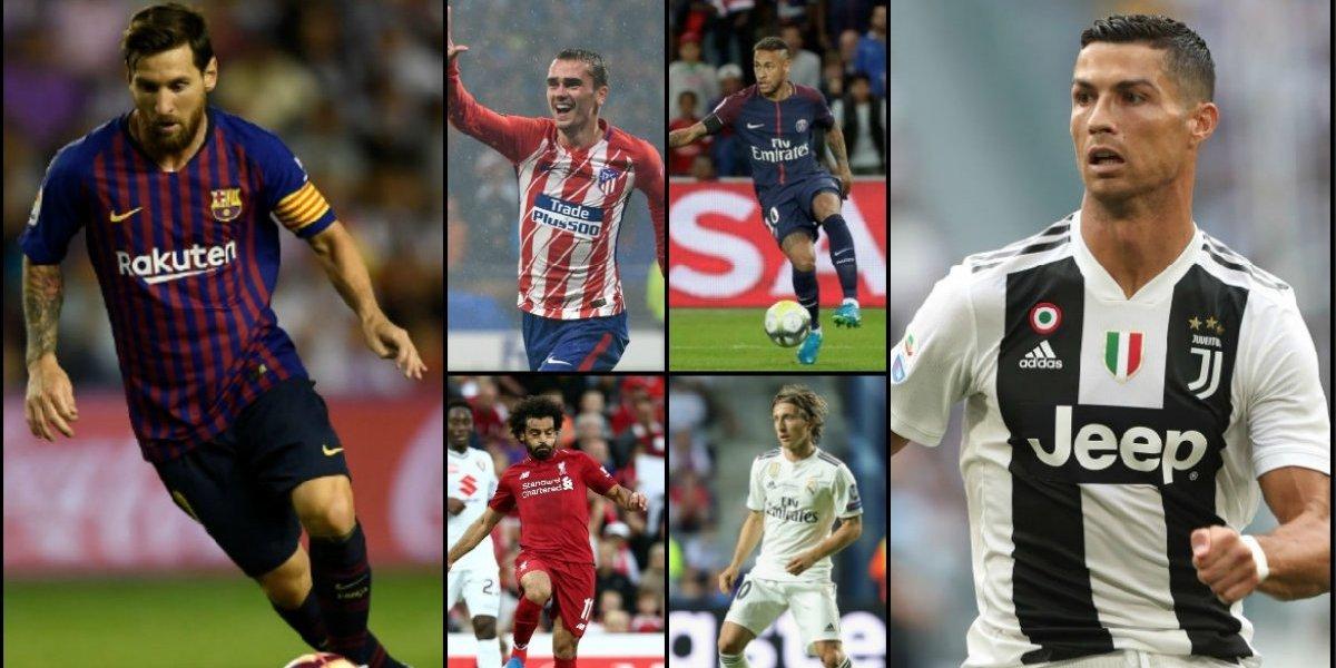 Las 20 estrellas que deslumbrarán en una nueva edición de Champions League