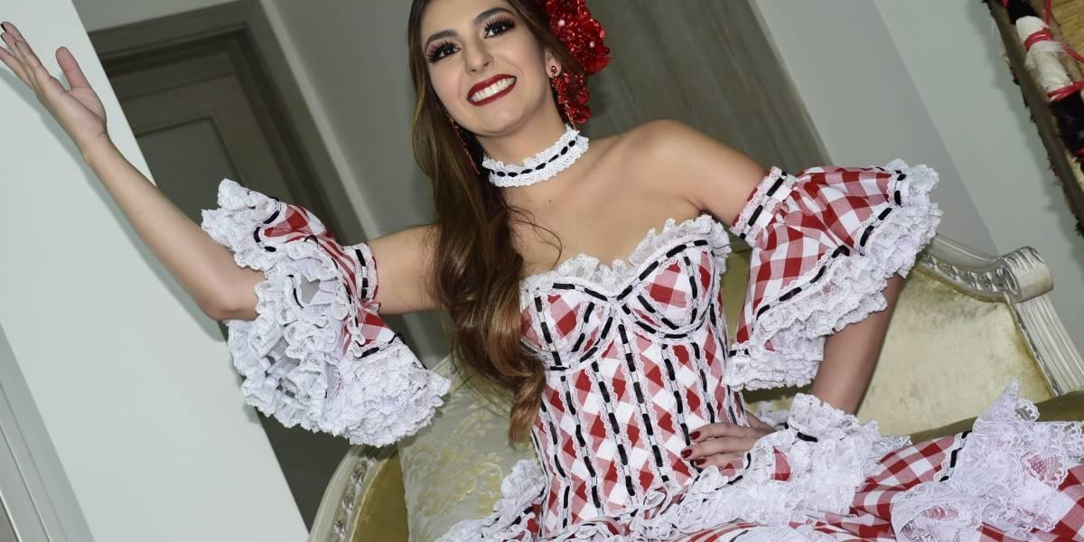"""""""Mi Carnaval será pura música y alegría"""": Carolina Segebre, reina del Carnaval de Barranquilla 2019"""