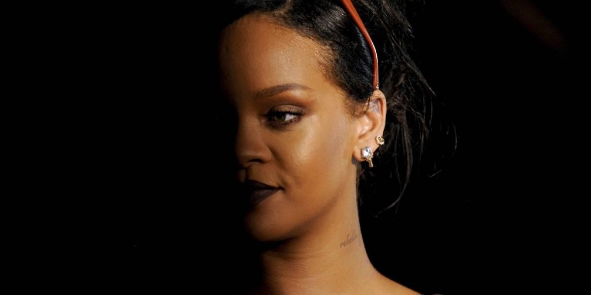 EN IMÁGENES. Rihanna desata su bestia salvaje en exuberante desfile en NY