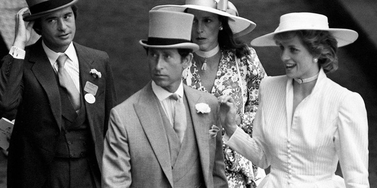 Falleció el amante de la princesa Diana con el que quiso escapar cuando estaba casada con el príncipe Carlos
