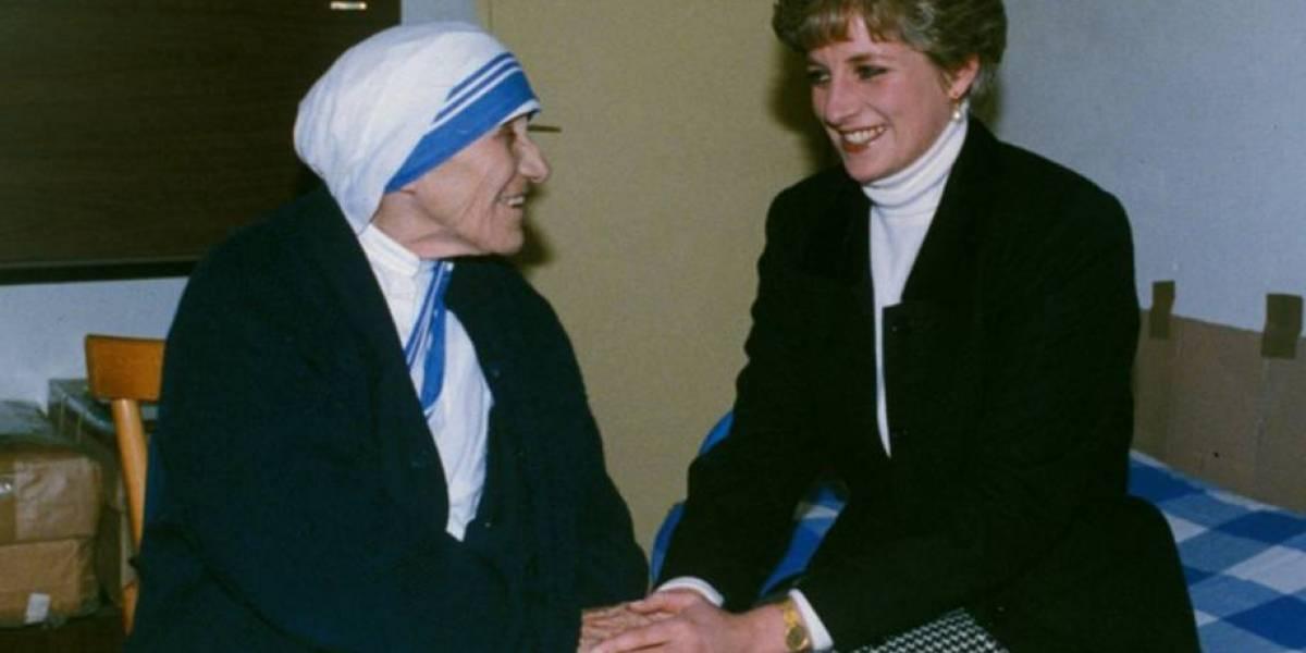 A emocionante relação entre Lady Di e Madre Teresa de Calcutá