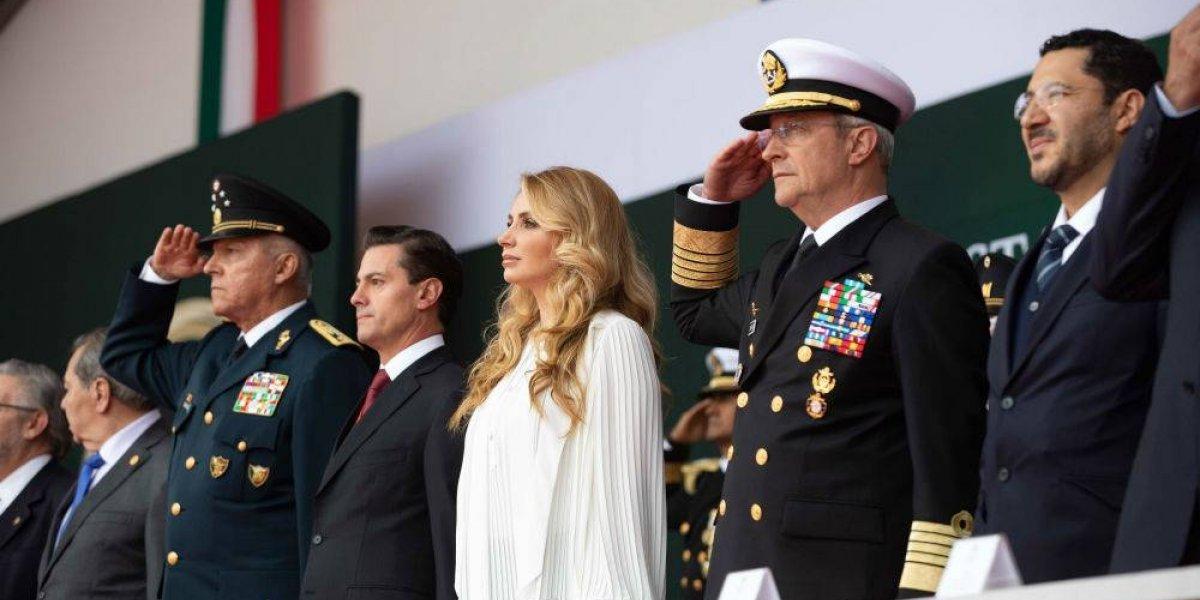 Respaldo de las Fuerzas Armadas en seguridad es subsidiario y temporal: Peña Nieto