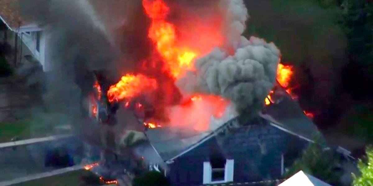 VIDEO. Decenas de casas en llamas debido a explosiones de gas en Massachusetts