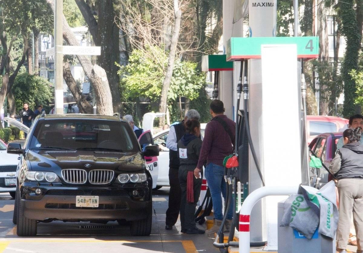 La gasolina subió más de 94% durante los últimos seis años Cuartoscuro