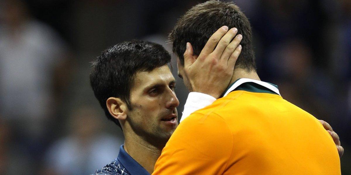 Del Potro revela lo qué le dijo Djokovic tras la final del US Open