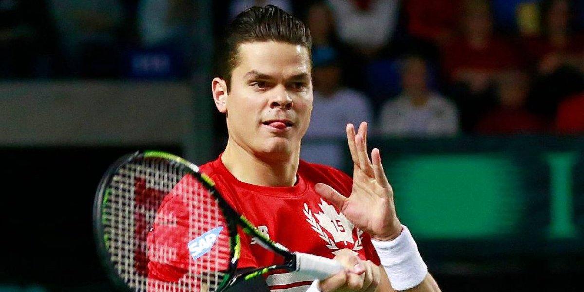 Milos Raonic abrirá la ilusión de Canadá y de Chile en la Copa Davis