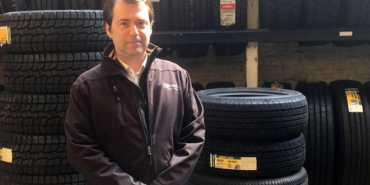 El reciclaje de neumáticos toma fuerza