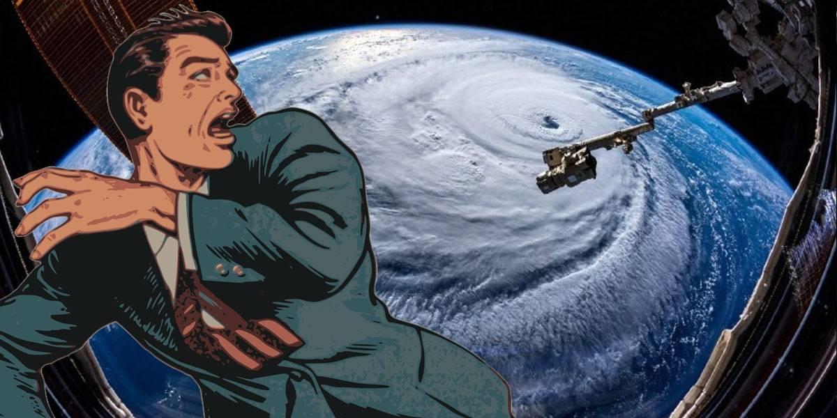 Así luce el huracán Florence desde el espacio y sí da miedo