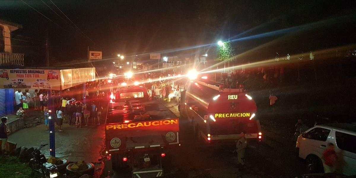 VIDEO. Incendio de grandes proporciones consume vivienda en Retalhuleu