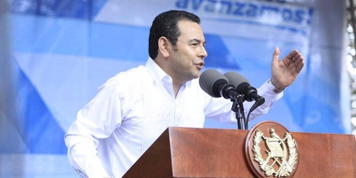 """Presidente Morales: """"Lo que le importa a Guatemala es que todos trabajemos de la mano"""""""
