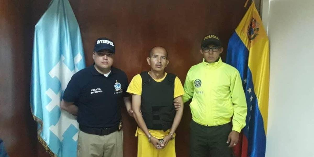 Extraditan a Colombia desde Venezuela al 'Lobo Feroz', presunto violador al que comparan con Garavito