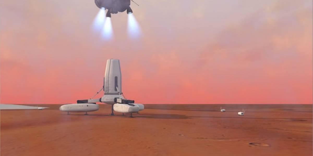 Liberan plan para poblar Marte: Así se podrían establecer los primeros humanos en el planeta