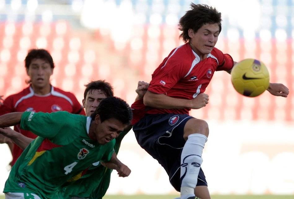 Alfonso Parot no registra experiencia en la Roja adulta. Sí fue seleccionado en distintas series juveniles, como en la Sub 20 cuando jugó el Sudamericano Venezuela 2009 / Foto: AP