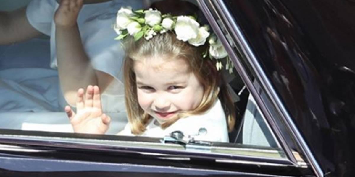 El divertido baile de la princesa Charlotte que ha hecho reír a miles