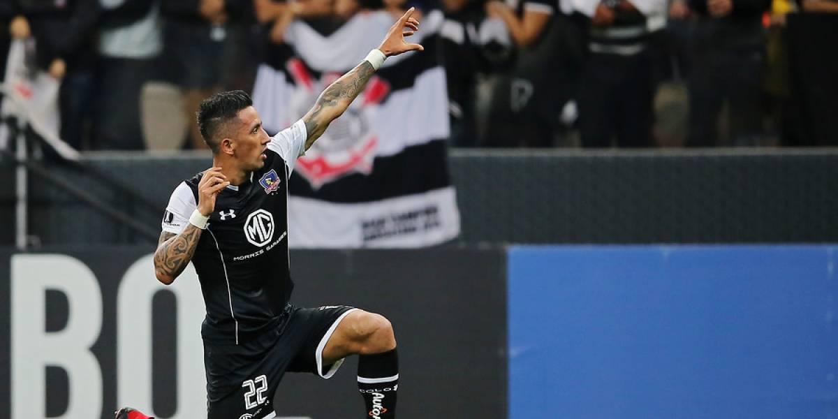 El especial cuidado de Colo Colo para encontrar la mejor versión de Lucas Barrios ante Palmeiras