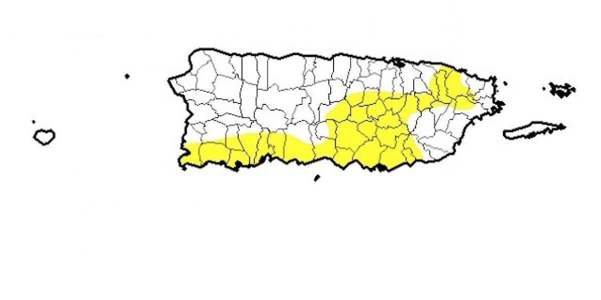 Continúa la sequía anómala en 43 pueblos de Puerto Rico