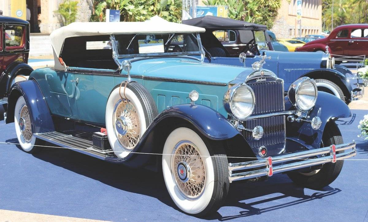 Packard Roadster 1931 foi eleito o melhor do show | Alexandre Carneiro/AutoPapo