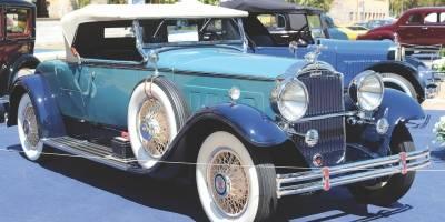 Packard Roadster 1931 foi eleito o melhor do show