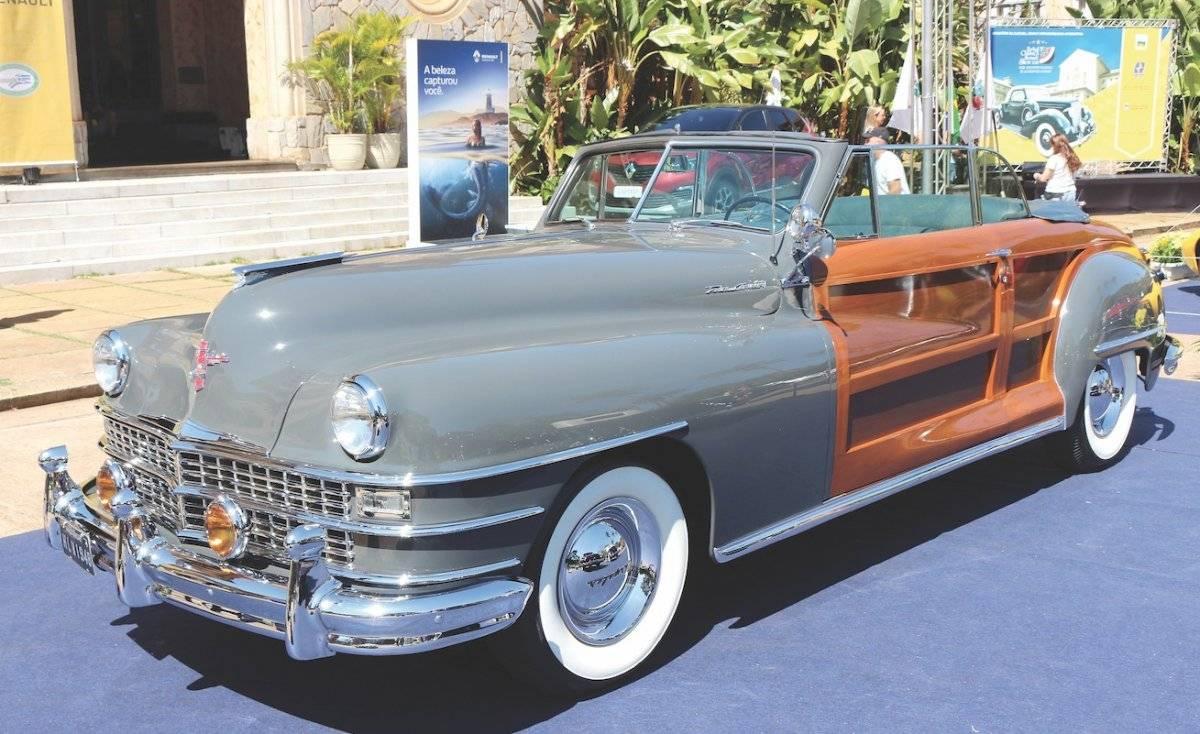 Chrysler Town and Country 1948: restaução, que incluiu os painéis de madeira da carroceria, durou oito anos | Alexandre Carneiro/AutoPapo