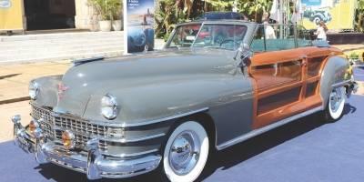 Chrysler Town and Country 1948: restaução, que incluiu os painéis de madeira da carroceria, durou oito anos