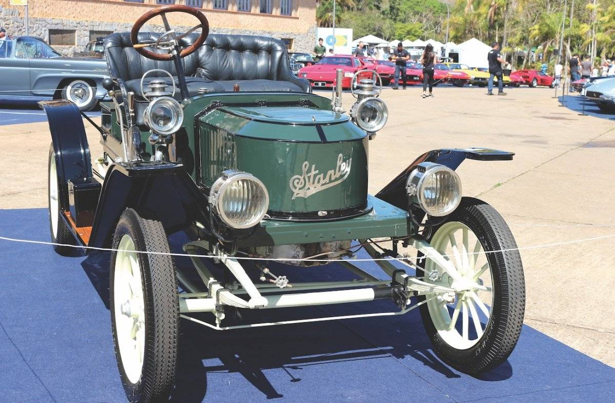 Stanley Steamer 1910 é movido a vapor | Alexandre Carneiro/AutoPapo