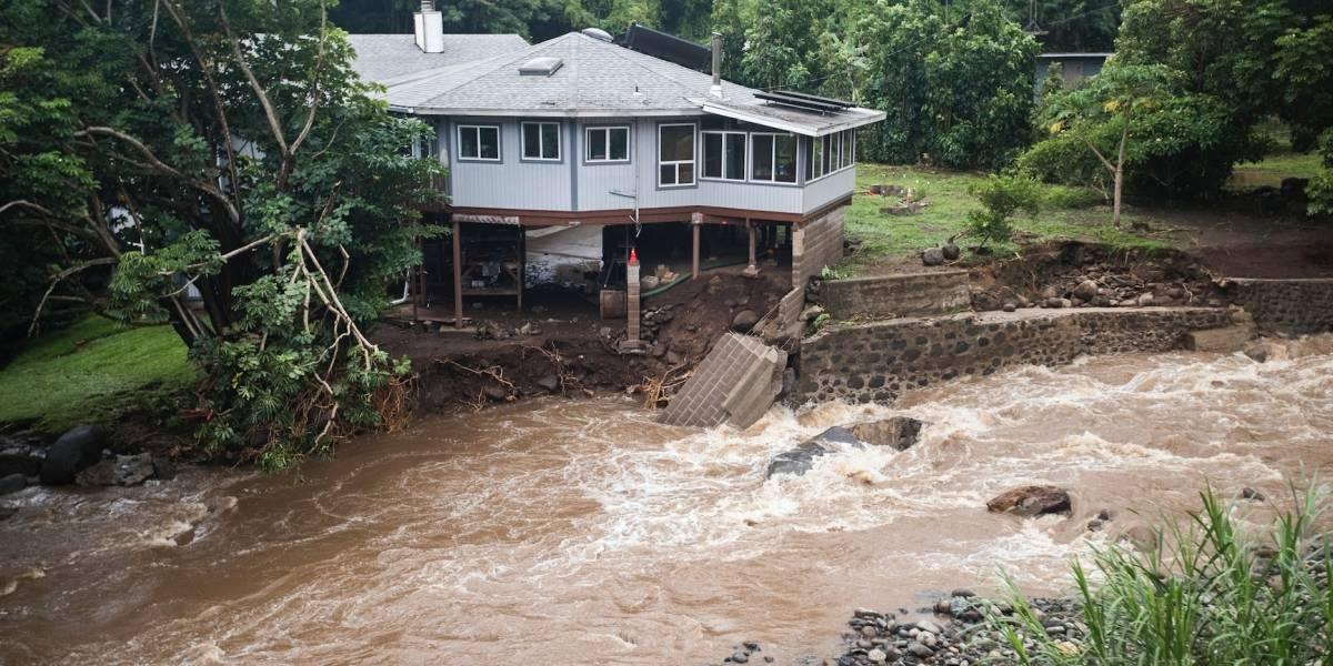 Depresión tropical Olivia trae más lluvia a Hawai
