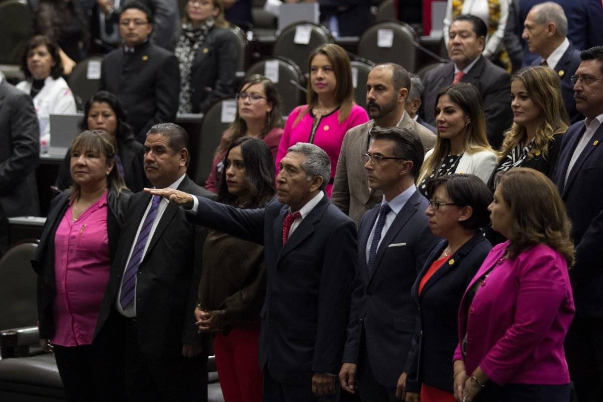 Al término de la votación en lo particular los diputados celebraron con gritos de: ¡Sí cumplimos, sí cumplimos! Foto: Cuartoscuro.