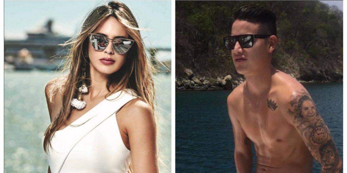 La ex de Marc Anthony, ¿es el nuevo amor de James Rodríguez?