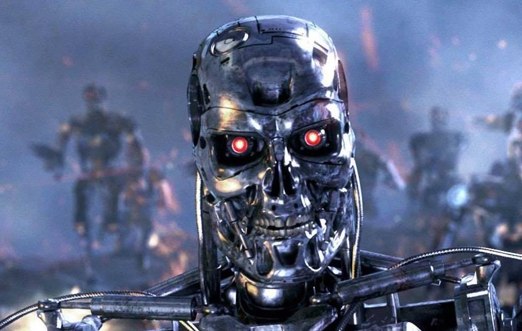 Meme Terminator parlamento europeo robots asesinos