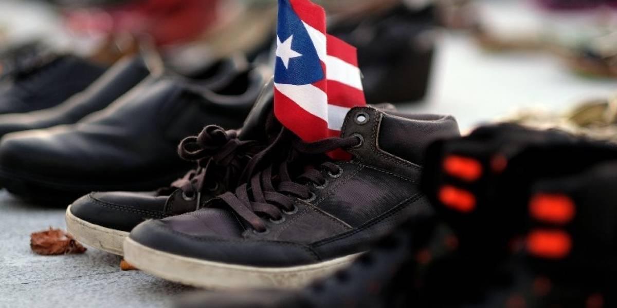 Víctimas de huracán en Puerto Rico