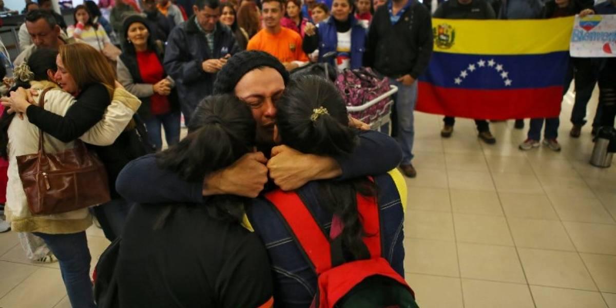 Venezuela: retornan 86 migrantes provenientes de Argentina